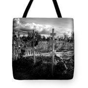 Russian Cemetery Tote Bag