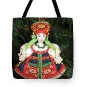 Russian Folk Ornament Tote Bag