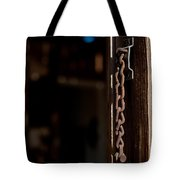 Rusted Chain Lock - Color Tote Bag