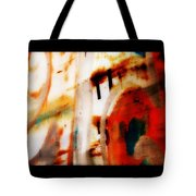 Rusted Paint Tote Bag