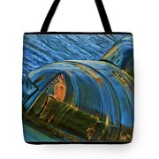 Rusted Submarine Tote Bag