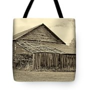 Rustic Charm Sepia Tote Bag