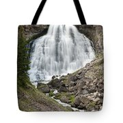 Rustic Falls Yellowstone Tote Bag