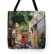 Rustic Greek Cafe Tote Bag
