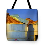 Rustic On The Blue Tote Bag