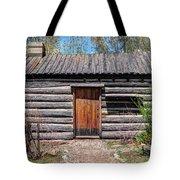 Rustic Pioneer Log Cabin - Salt Lake City Tote Bag