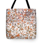 Rustic Red Abstract Tote Bag