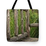 Rustic Seating Tote Bag