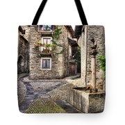 Rustic Village Tote Bag
