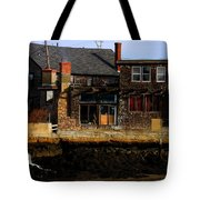 Rustic Waterfront Tote Bag
