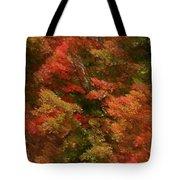 Rustling Autumn Leaves Tote Bag