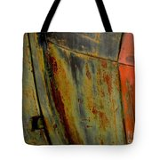 Rusty Abstract Tote Bag