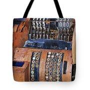 Rusty Cash Register Tote Bag