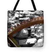 Rusty Cog Tote Bag