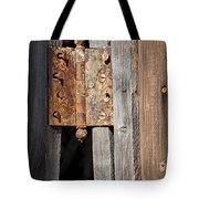 Rusty Hinge Tote Bag