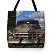Rusty Old Cadillac Tote Bag