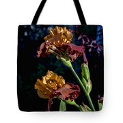 Rusty Petals Tote Bag