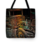 Rusty Travels Tote Bag