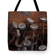 Rusty Typewriter Tote Bag