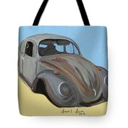 Rusty V.w. Bug Tote Bag