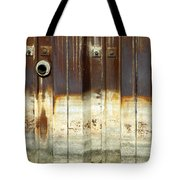 Rusty Wall In The City Tote Bag