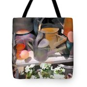 Rusty Watering Cans Tote Bag