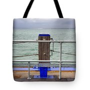 Ryde On The Solent Wharf Tote Bag