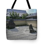 Ryogen-in Raked Gravel Garden - Kyoto Japan Tote Bag