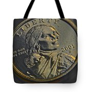 Sacagawea 2001 Tote Bag