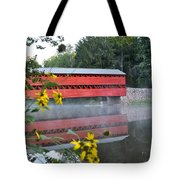 Sachs Covered Bridge At Gettysburg Tote Bag