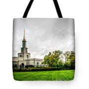 Sacramento Temple Landscape Tote Bag