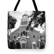 Sacred Heart Church Tote Bag