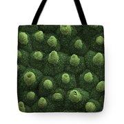 Sacred Lotus Leaf, Sem Tote Bag