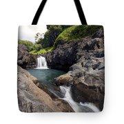 Sacred Pool Falls Tote Bag