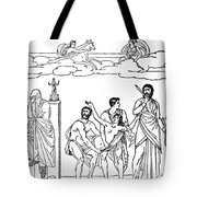 Sacrifice Of Iphigenia Tote Bag