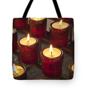 Sacrificial Candles Tote Bag