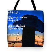 Saddle Up Tote Bag
