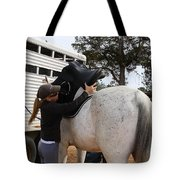 Saddling Up Tote Bag
