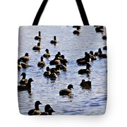 Safety In Numbers Tote Bag by Douglas Barnard