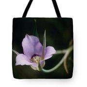 Sagebrush Mariposa Lily Tote Bag