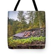 Sagging Rooftop 1 Tote Bag