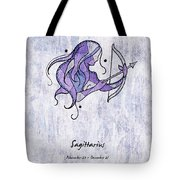 Sagittarius Artwork Tote Bag