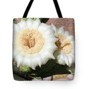 Saguaro Cactus Flowers Tote Bag