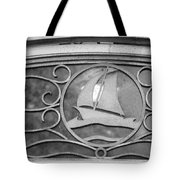 Sailboat On The Boathouse Tote Bag