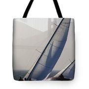 Sailboats Race On San Francisco Bay Tote Bag