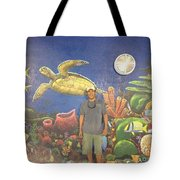 Sailfish Splash Park Mural 7 Tote Bag