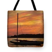 Sailin' On Dewey Tote Bag