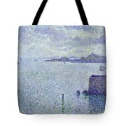 Sailing Boats In An Estuary Tote Bag