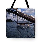 Sailing Coastal Maine Tote Bag