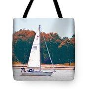Sailing Day Tote Bag